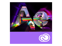 Adobe After Effects CC for teams - Nouvel abonnement de licence d'équipe (1 mois)