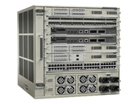 Cisco Catalyst 6807-XL - commutateur - Montable sur rack - avec moteur Supervisor 2T de Cisco (VS-S2T-10G), plateau de ventilation