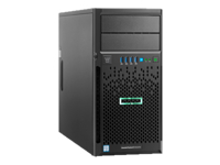 HPE ProLiant ML30 Gen9 Base - micro-tour - Xeon E3-1220V5 3 GHz - 4 Go - 0 Go