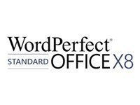 WordPerfect Office X8 Standard Edition - licence - 1 utilisateur