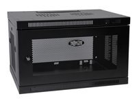 Tripp Lite SmartRack 6U Low-Profile Switch-Depth Wall-Mount Rack Enclosure Cabinet - rack - 6U
