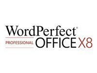 WordPerfect Office X8 Professional Edition - licence - 1 utilisateur
