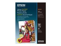 Epson Value - papier photo - 20 feuille(s) - A4 - 183 g/m²