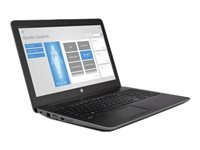 "HP ZBook 15 G4 Mobile Workstation - 15.6"" - Core i7 7700HQ - 16 Go RAM - 256 Go SSD - français"