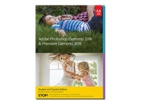 Adobe Photoshop Elements 2018 & Premiere Elements 2018 Student and Teacher Edition - ensemble de boîtes - 1 utilisateur