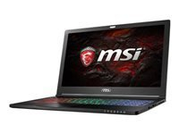 "MSI GS63 7RE 013FR Stealth Pro - 15.6"" - Core i7 7700HQ - 8 Go RAM - 128 Go SSD + 1 To HDD - français (AZERTY)"