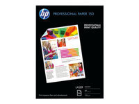 HP Professional Glossy Paper - papier photo - 150 feuille(s) - A4 - 150 g/m²