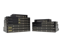 Cisco 250 Series SG250-50P - commutateur - 50 ports - intelligent - Montable sur rack