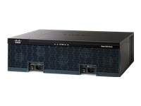 Cisco 3925 Voice Bundle - routeur - module voix/fax - Ordinateur de bureau, Montable sur rack