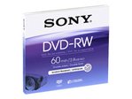 CD/DVD SONY Sony DMW-60 - DVD-RW (8cm) x 1 - 2.8 Go - support de stockage