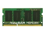 Mémoire vive petit format KINGSTON Kingston ValueRAM - DDR3L - 2 Go - SO DIMM 204 broches - mémoire sans tampon