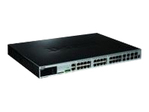 xStack3620-28PC - Switch administra ble 24 ports 10/100/1000Mbps PoE  dont 4 Combo 1000Base-T/SFP 4 10G