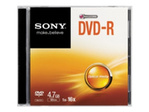 CD/DVD SONY Sony DMR47SS - DVD-R x 1 - 4.7 Go - support de stockage