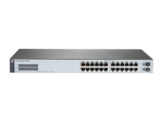 Switch gigabit HEWLETT PACKARD ENTERPRISE HPE 1820-24G - commutateur - 24 ports - Géré - Montable sur rack