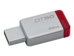 Kingston DataTraveler 50 - clé USB - 32 Go