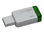 Kingston DataTraveler 50 - clé USB - 16 Go