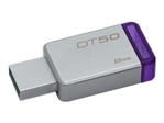 Clé USB KINGSTON Kingston DataTraveler 50 - clé USB - 8 Go