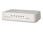 Switch gigabit NETGEAR NETGEAR FS205 - commutateur - 5 ports - non géré