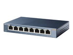 Switch gigabit TP LINK TP-Link TL-SG108 8-port Metal Gigabit Switch - commutateur - 8 ports - non géré