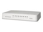Switch gigabit NETGEAR NETGEAR FS208 - commutateur - 8 ports - non géré