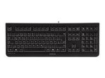 CHERRY KC 1000 - clavier - France - noir