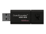 Clé USB KINGSTON Kingston DataTraveler 100 G3 - clé USB - 128 Go