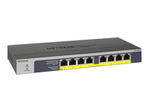 8PT POE/POE+GIGABIT UNMANAGED SWCH