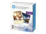 Papier standard HP HP Social Media Snapshots - papier photo - 25 feuille(s) - 100 x 130 mm - 265 g/m²