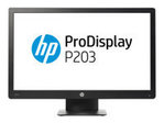 Moniteur HP HP ProDisplay P203 - écran LED - 20""