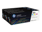 HP 305A CYM Tri-Pack Laserjet Toner Cartridge