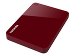 TOSHIBA Canvio Advance 2 To red