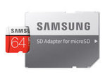 Micro SD 64GB EVO+w SD Adapter class 10