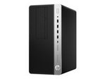 PC de bureau HP HP ProDesk 600 G3 - micro-tour - Core i5 6500 3.2 GHz - 8 Go - 1 To - français