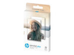 Papier standard HP HP ZINK Sticky-Backed - papier photo - 20 feuille(s) - 58 x 87 mm - 258 g/m²