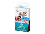 Papier standard HP HP ZINK Sticky-Backed Photo Paper - papier photo - 50 feuille(s) - 50 x 76 mm - 290 g/m²