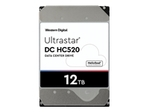 Connectique serveur WESTERN DIGITAL WD Ultrastar DC HC520 HUH721212ALE604 - disque dur - 12 To - SATA 6Gb/s