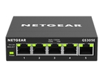Switch gigabit NETGEAR NETGEAR GS305E - commutateur - 5 ports - intelligent