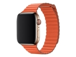 44MM SUNSET LEATHER LOOP LARGE