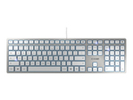 CHERRY KC 6000 SLIM Clavier 105+6 touch