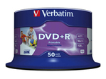 DVD+R/4.7GB 16xspd photo print 50pk