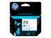 HP 711 - pack de 3 - cyan - encre à colorants -...