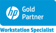 Logo Gold Partner HP Workstation Specialist