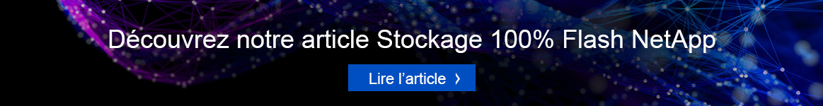 Stockage 100% Flash NetApp